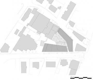 Wi-Fi Vorarlberg - Educational Institution - Situace - foto: Caramel Architekten