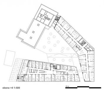 Wi-Fi Vorarlberg - Educational Institution - Půdorys 4.np - foto: Caramel Architekten