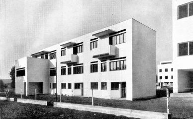 Kolonie Nový dům - Trojdům B. Fuchse. - foto: archiv redakce