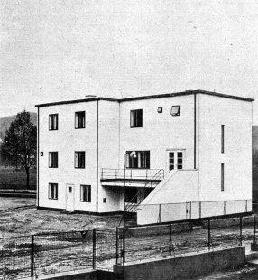 Kolonie Nový dům - Dvojdům E. Wiesnera. - foto: archiv redakce