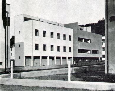 Kolonie Nový dům - Dvojdům J. Víška a dvojdům M. Putny a H. Foltýna. - foto: archiv redakce