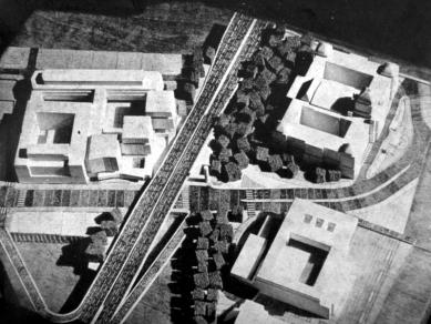 TRANSGAS - repro z Architektura ČSSR 1971