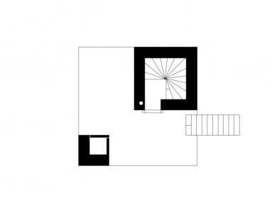 Mountain Cabin - Level 3 - vstupní patro - foto: Marte.Marte Architekten