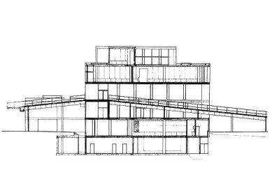 Carpenterovo centrum pro vizuální umění  - Řez B