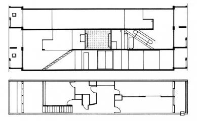 Unité d'Habitation Firmini - Dispozice bytů - foto: © FLC