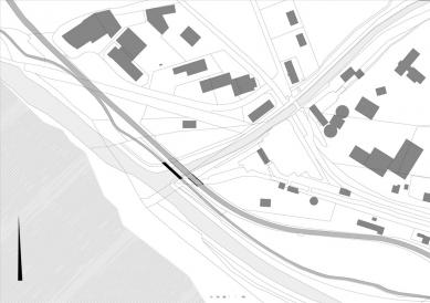Alfenz Bridge - Situace - foto: Marte.Marte Architekten