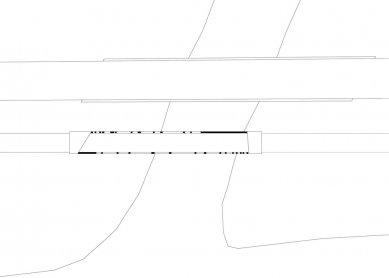 Alfenz Bridge - Půdorys - foto: Marte.Marte Architekten