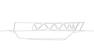 Alfenz Bridge - Severovýchodní pohled - foto: Marte.Marte Architekten