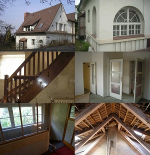 Rekonstrukce rodinného domu ve Strašnicích - Původní stav