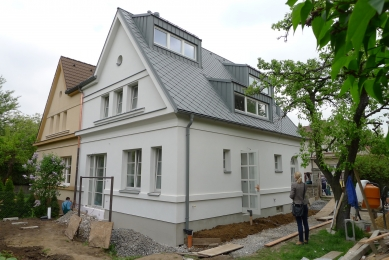 Rekonstrukce rodinného domu ve Strašnicích - Stavba