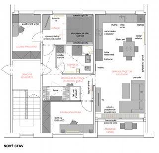 Proměna panelákového bytu, Liberecký kraj - Současný stav