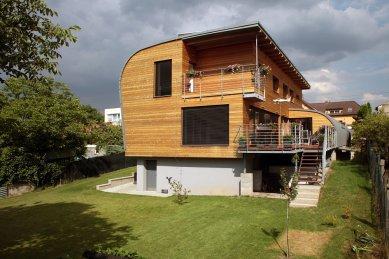 Rodinný dům ve Vraném nad Vltavou - foto: Robert Žákovič