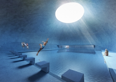 Plavecký bazén - Písek - Plavecký bazén
