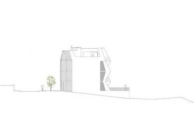 Bytový dům Ragnitzstrasse - Západní pohled - foto: LOVE architecture and urbanism