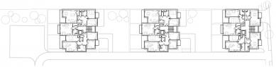 Bytový dům Kadetka - Půdorys typického podlaží