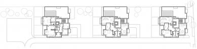 Bytový dům Kadetka - Půdorys 5NP