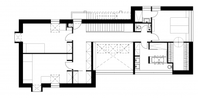 Bílý dům - Půdorys 2NP