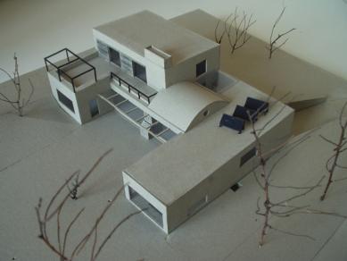Novostavba rodinné vily v Benešově - Model