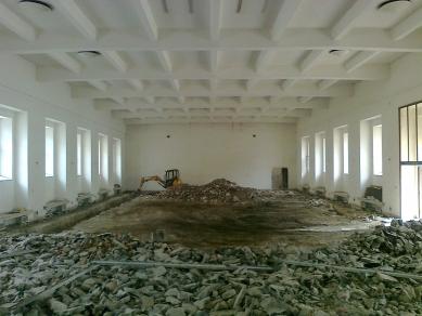 Jízdárna - multifunkční sál v Litomyšli - Zahájení stavby - foto: archiv HŠH architekti