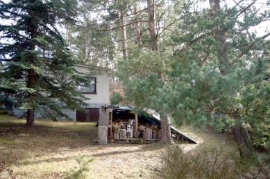 Rodinný dům Peršan - původní stav pozemku včetně chatky
