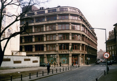 Obchodní dům na Junkernstrasse - Poválečný stav