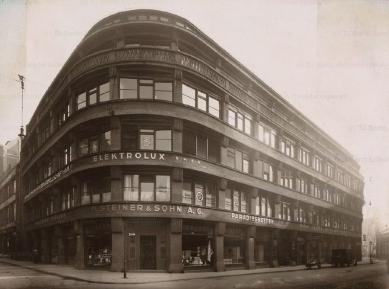 Obchodní dům na Junkernstrasse - Předválečný stav