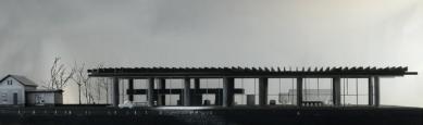 Dílenský prostor v Bregenzském lese - Model