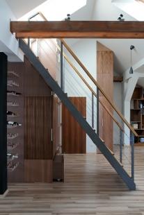 Podkrovní byt ve Strašnicích - foto: Robert Žákovič