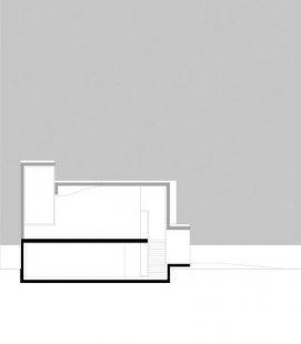 Rehearsal Room - Řez - foto: Marte.Marte Architekten
