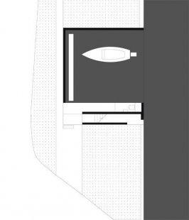 Steinhauser Boat House - Půdorys přízemí - foto: Marte.Marte Architekten