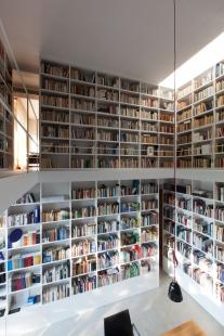 Dostavba soukromé knihovny Zlín-Kostelec