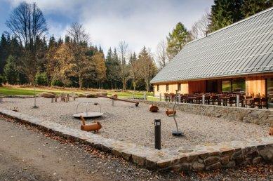 Návštěvnické centrum Srní - foto: Radovan Kupka