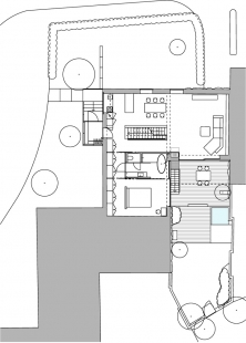 Rodinný dům na Zeleném pruhu - 1. NP