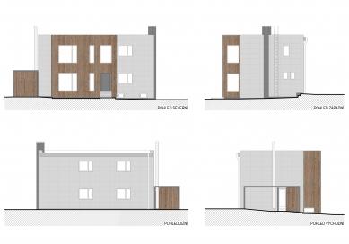 Stavební úpravy firmy Steel Partner a Multifunkční objekt - SO01 - pohledy