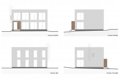 Stavební úpravy firmy Steel Partner a Multifunkční objekt - SO02 - pohledy