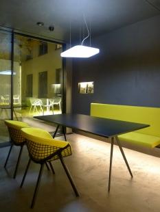 J&T BANKA - jednací místnost a úprava atria - foto: Filip Šlapal