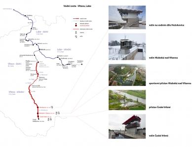 Vltavská vodní cesta – splavnění