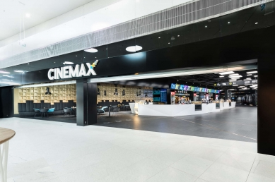 Cinemax multiplex movie theatre - foto: Peter Čintalan