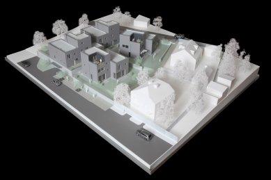 Rezidenční projekt Origami - Model - foto: Qarta Architektura