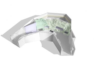 Pavilon pro velemloky - Model - foto: Qarta Architektura