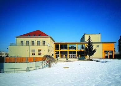 Kulturní klub města Písku - Pohled ze zahrady (z jihu) - foto: Filip Šlapal