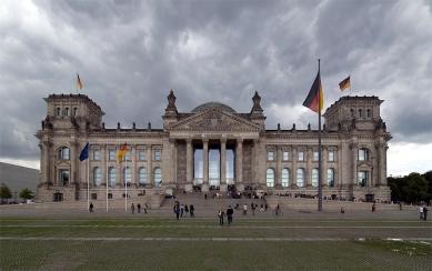 Sídlo Německého spolkového sněmu - foto: © Petr Šmídek, 2008