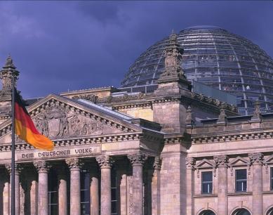 Sídlo Německého spolkového sněmu - foto: © Nigel Young/Foster + Partners