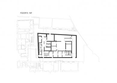 Wellness Grandhotelu Pupp - Půdorys 1.np - foto: Architektonický ateliér KAAMA