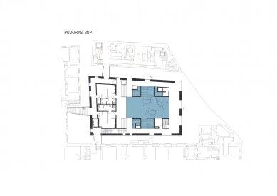 Wellness Grandhotelu Pupp - Půdorys 2.np - foto: Architektonický ateliér KAAMA