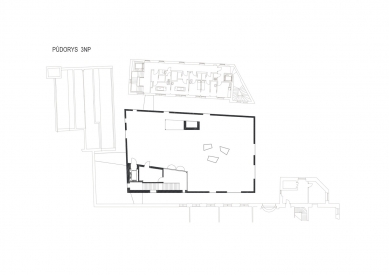 Wellness Grandhotelu Pupp - Půdorys 3.np - foto: Architektonický ateliér KAAMA