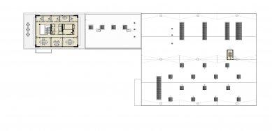 Výrobní areál LIFOCOLOR - Půdorys 3NP