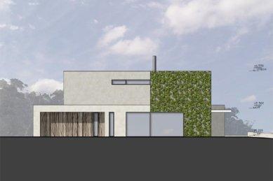 Rodinný dům Točná - Severní pohled - foto: Qarta Architektura