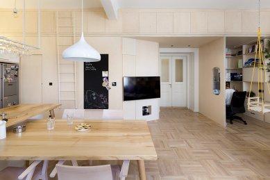 Novoměstský byt - foto: A1Architects – David Maštálka