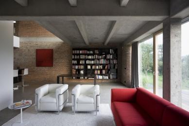 Obytný loft, Zlín-Kostelec  - foto: Libor Stavjaník / studio Toast